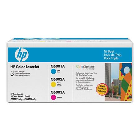 HP CEA Color Toner Cartridge Tri Pack 55 - 550