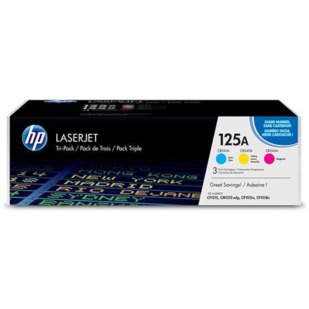 HP CEA CyanYellowMagenta Tri Pack LaserJet Toner Cartridges 283 - 211