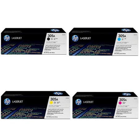 HP Complete Color Toner Set Series Printers 4 - 339