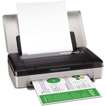 HP Officejet Mobile Printer ppm ppm Color Print Speed Sheet Duty Cycle 236 - 48