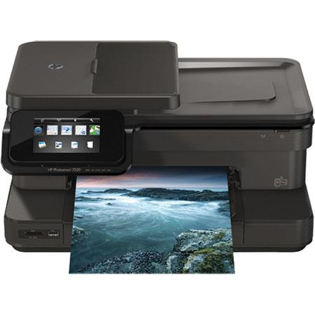 Hewlett Packard HP Photosmart e All In One Color Inkjet Printer ppm dpi BW dpi Color USB Wi Fi Print 102 - 518