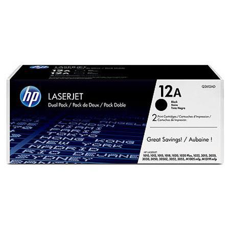 HP QD A Dual Pack Toner Cartridges Laserjet Printers 255 - 135