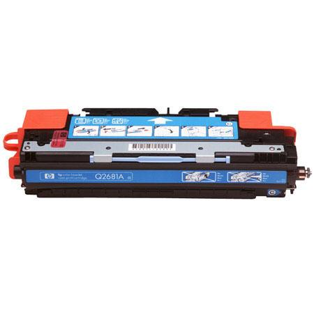 HP QA Color LaserJet Cyan Print Cartridge Yields up to standard pages 1 - 363