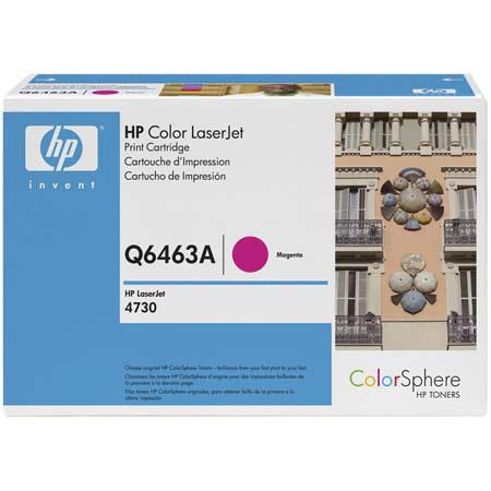 HP Color LaserJet QA Magenta Print Cartridge HP ColorSphere Toner 71 - 602
