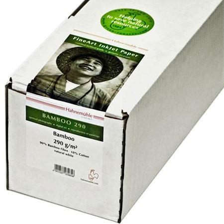 Hahnemuhle Fine Art Bamboo Fiber Natural Smooth Warm Tone Inkjet Paper gsmRoll Core 26 - 691