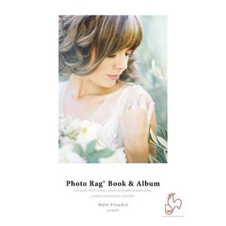 HahnemuhlePhoto Rag Book Album Long Grain gsm Sheets 145 - 449