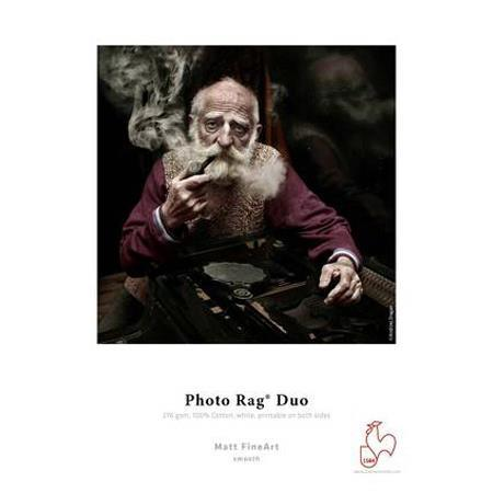 Hahnemuhle Photo Rag Duo Rag Bright Matte Inkjet Paper Coated Sides gmASheets 78 - 500