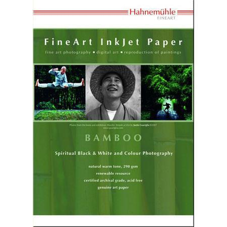 Hahnemuhle Bamboo Fiber Inkjet Paper Premium Edition gsmSheets NaturalWarm Tone 72 - 488