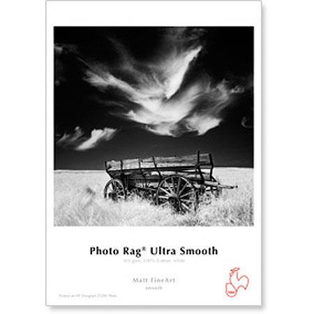 Hahnemuhle Photo Rag Rag Ultra Smooth Matte Inkjet Paper gsmSheets 83 - 417
