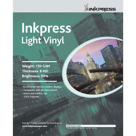 Inkpress Signage Media Light Weight Vinyl Scrim Banner Material Indoor Outdoor Use milRoll 227 - 199