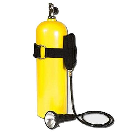 Ikelite SPD Dive Lite watt Flashlight Tank Mounted Battery Pack 217 - 509