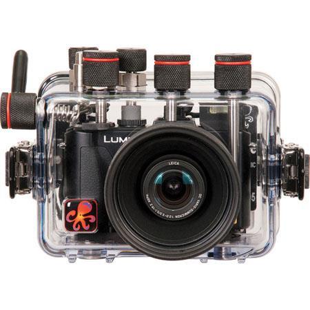 Ikelite Underwater TTL Camera Housing Panasonic LumiLX Digital Camera 86 - 626