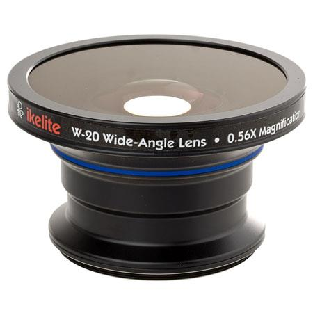 Ikelite WWide Angle Conversion Lens a Mounting Thread FREE Color Correcting filter a Value 128 - 125