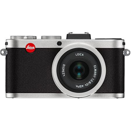 Leica Compact Digital Camera MP Leica ELMARIT f ASPH Lens LCD Display Silver 386 - 224
