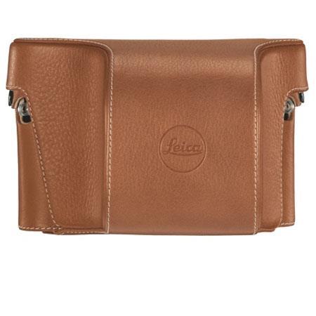 Leica Ever Ready Case Vario Cognac Leather 75 - 337