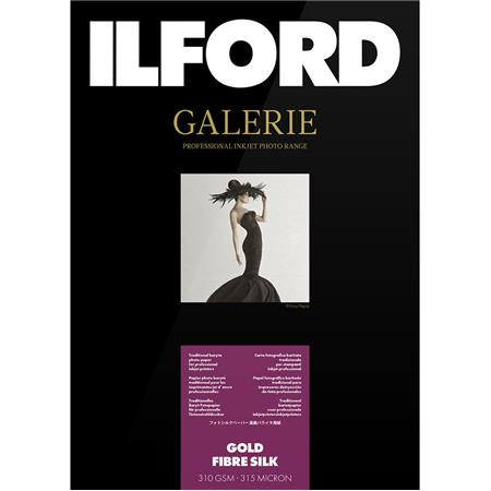 Ilford GALERIE Prestige Gold Fibre Silk Inkjet Paper gsmSheet Pack 59 - 703