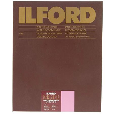 Ilford Multigrade FB Fiber Based Warmtone VC Variable Contrast Enlarging PaperSheets Glossy Surface 41 - 507