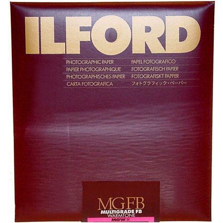 Ilford Multigrade FB Fiber Based Warmtone VC Variable Contrast Enlarging PaperSheets Semi Matte Surf 135 - 534