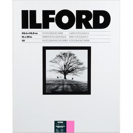 Ilford Multigrade IV RC Deluxe Resin Coated VC Variable Contrast Enlarging PaperSheets Glossy Surfac 212 - 704