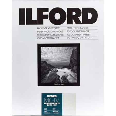 Ilford Multigrade IV RC Deluxe Resin Coated VC Variable Contrast Enlarging PaperSheets Pearl Surface 48 - 214