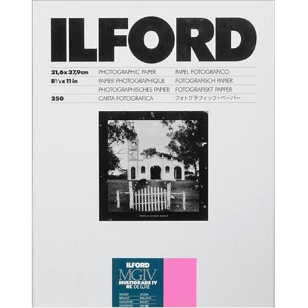Ilford Multigrade IV RC Deluxe Resin Coated VC Variable Contrast Enlarging PaperSheets Glossy Surfac 263 - 330