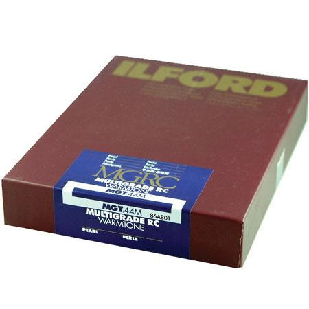 Ilford Multigrade RC Warmtone Resin Coated VC Variable Contrast Enlarging PaperSheets Pearl Surface 95 - 58