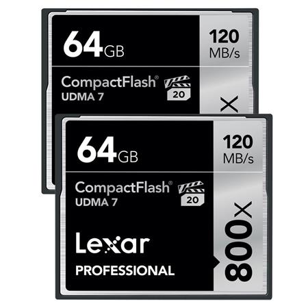 Lexar GB ProfessionalCompactFlash Card Pack 126 - 396