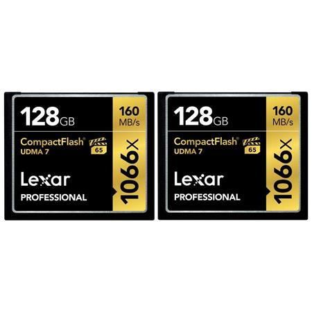 Lexar GB ProfessionalCompactFlash Memory Card Pack Of Two 337 - 192