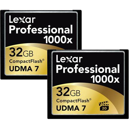 Lexar GB ProfessionalCompactFlash Memory Card Pack 129 - 167