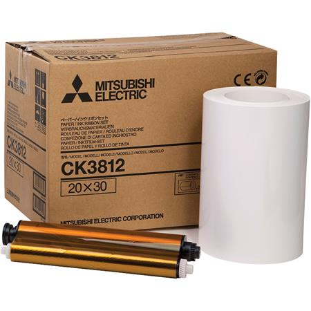 Mitsubishi Electric Printer Roll Paper Rolls Per BoPrints per Rollthe CP DW Dye Sublimation Thermal  305 - 42