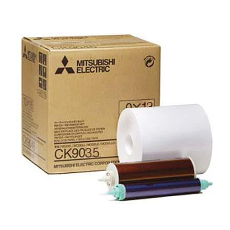 Mitsubishi Electric Wide Paper Roll Inksheet Photos Sizesome CP Series Dye Sublimation Thermal Print 89 - 26