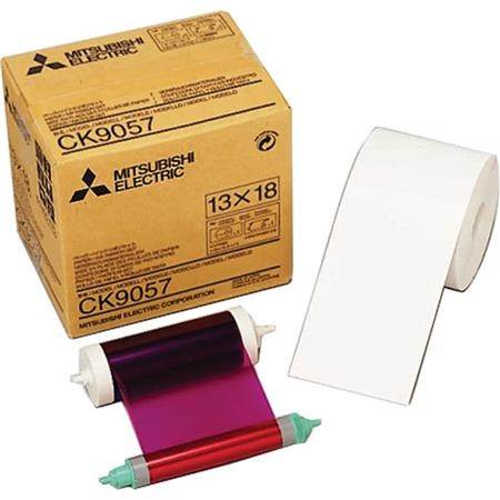 Mitsubishi Electric Wide Paper Roll Inksheet Photos Sizesome CP Series Dye Sublimation Thermal Print 163 - 333