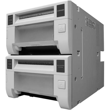 Mitsubishi CP DDW Double Deck Compact Digital Dye Sublimation Thermal Photo PrinterPhotos dpi USB  61 - 417