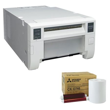Mitsubishi CP DDW Single Deck Compact Digital Dye Sublimation Thermal Photo PrinterPhotos dpi USB Bu 155 - 110