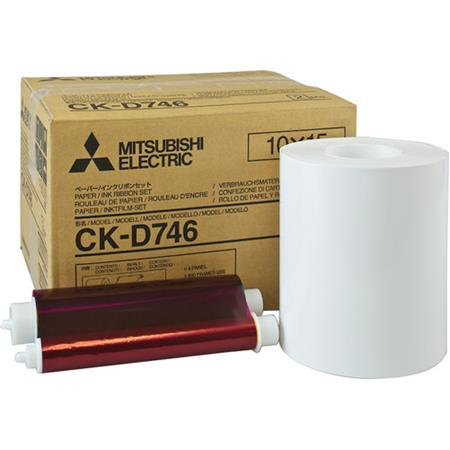 Mitsubishi Electric Two Wide Paper Rolls and Inksheet Photos SizeRoll BoCP Series Thermal Printers 211 - 717