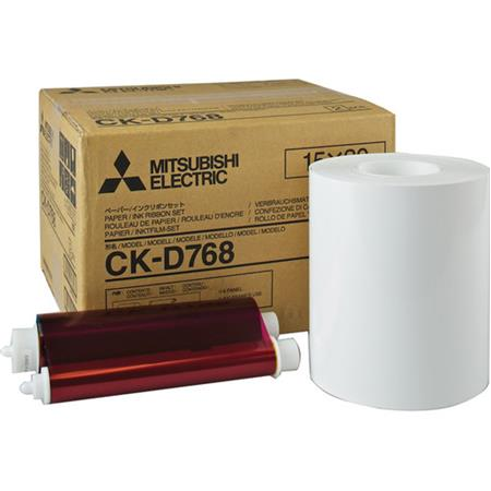 Mitsubishi ElectricPaper Roll and Inksheet Dye Sub Media CP DDW CP DDW Printers Photos 64 - 457