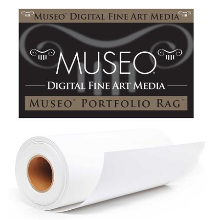 Museo Portfolio Rag Extra Smooth Matte Fine Art Inkjet Paper gsmRoll 63 - 280