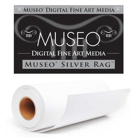 Museo Silver Rag Archival Fine Art Gloss Inkjet Paper gsm milRoll 27 - 426