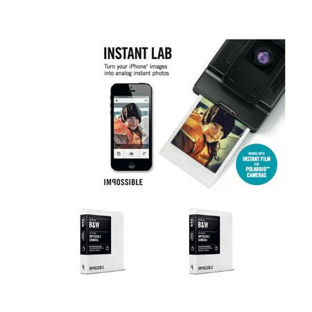 Impossible Instant Lab For iPhone s iPhone Bundle Two Impossible Films Pack 94 - 793