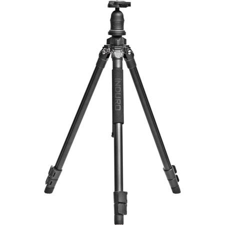 Induro AKB Adventure Alloy AK Series Section Tripod Leg Set Quick Release Ball Head Extends to Suppo 91 - 443