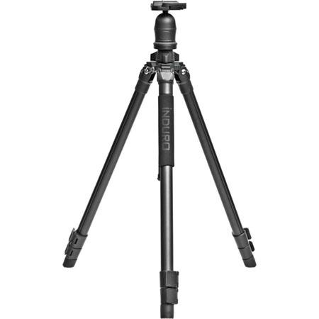 Induro AKB Adventure Alloy AK Series Section Tripod Leg Set Quick Release Ball Head Extends to Suppo 72 - 378