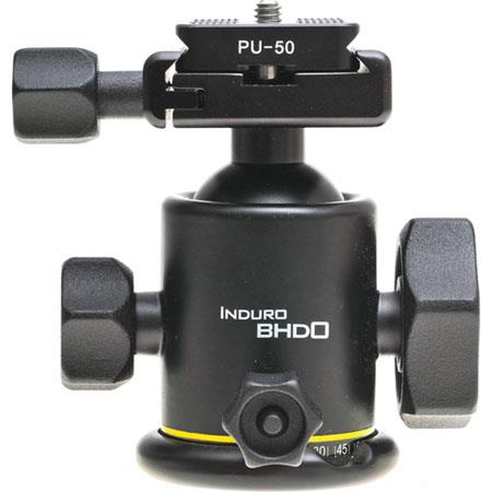 Induro BHD Magnesium Dual Action Ballhead Quick Release Size Tripods Supports lbs 302 - 18