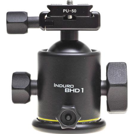 Induro BHD Magnesium Dual Action Ballhead Quick Release Size Tripods Supports lbs 110 - 234