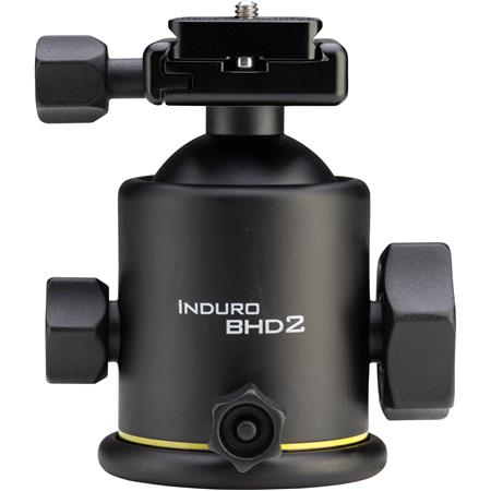 Induro BHD Magnesium Dual Action Ballhead Quick Release Size Tripods Supports lbs 47 - 565