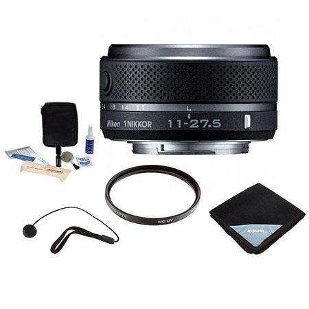 Nikon Nikkor f ED IF VR ZOOM Lens Mirrorless Camera Bundle Pro Optic PRO MM MC UV Filter Pro Optic L 265 - 225