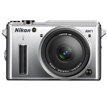 Nikon AW Waterproof Mirrorless Digital Camera Nikkor AW f Lens MP LCD Display Hi speed USBHDMI Outpu 36 - 580