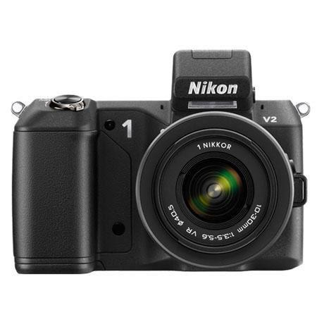 Nikon V Mirrorless Digital Camera Body Nikon VR Zoom Lens Refurbished Nikon USA 223 - 233