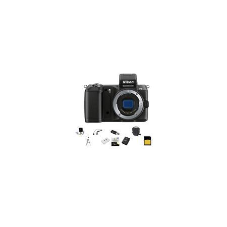 Nikon V Mirrorless Digital Camera Body Bundle SanDisk GB SDHC Memory Card LowePro Carrying Case Spar 243 - 216