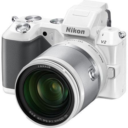 Nikon V Mirrorless Digital Camera Nikon f VR Zoom Lens  80 - 594