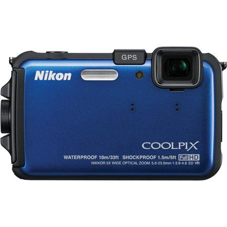 Nikon CoolpiAW Digital Camera Refurbished Nikon USA 239 - 569